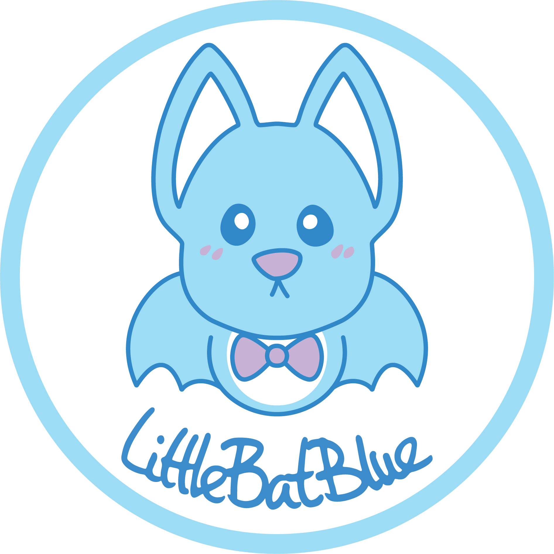 LittleBatBlue